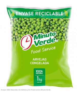 ARVEJAS CONGELADAS Minuto Verde  1 Kg