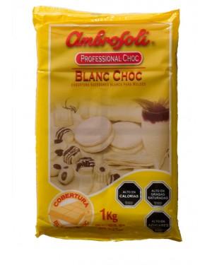 COBERTURA CHOCOLATE BLANCO  Ambrosoli  1Kg