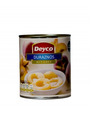 DURAZNOS EN MITADES Deyco 820 g