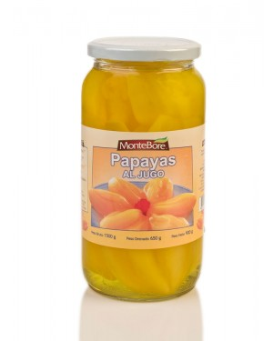 Caja De Papayas Al Jugo