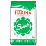 HARINA SIN POLVOS DE HORNEAR Selecta 1 Kg