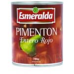 PIMIENTO MORRON ENTERO ROJO Esmeralda 780 g
