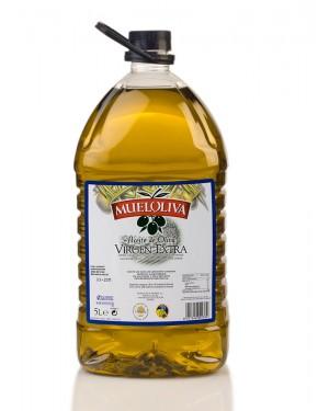 Aceite Oliva Extra Virgen Mueloliva  5 Litros