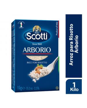 ARROZ ARBORIO  Scotti 1 kg