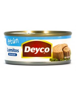 ATUN LOMITO  AL AGUA Deyco  170 gr