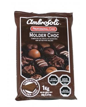 COBERTURA CHOCOLATE MOLDER CHOC  Ambrosoli  1Kg