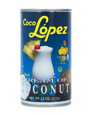 CREMA DE COCO LOPEZ Contenido 425g Código A-622-1