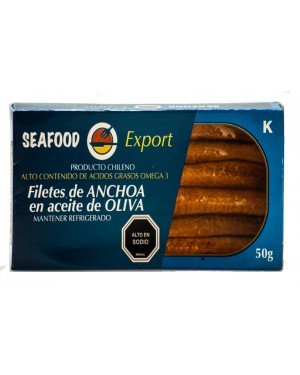 FILETE DE ANCHOAS SeaFood  50 g